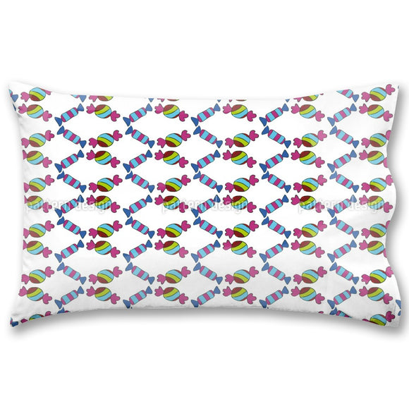 Sweet Striped Candies Pillow Case