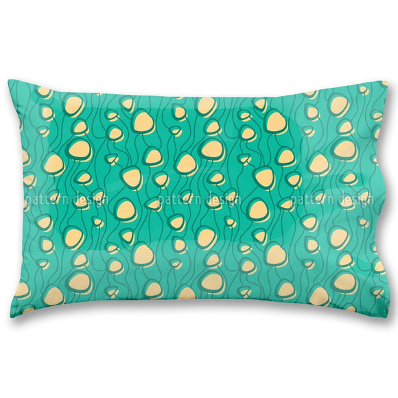 Interconnected Shapes Pillow Case