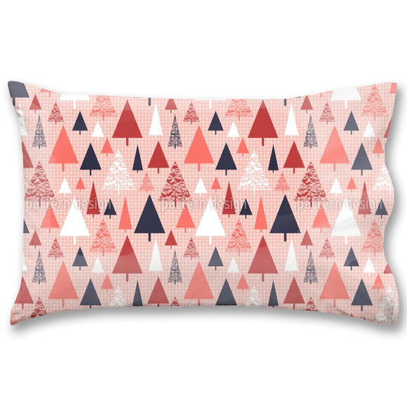Snowy Trees Pillow Case