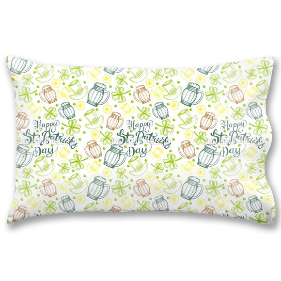 St Paddies Party Pillow Case