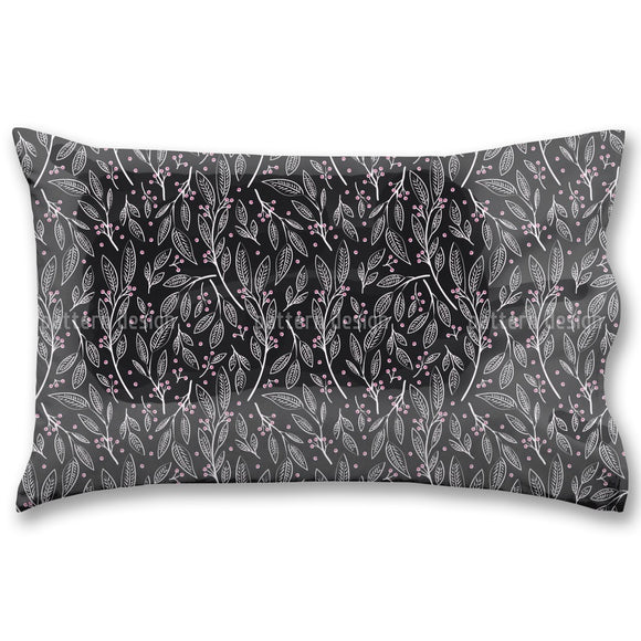 Delicate Berry Twigs Pillow Case