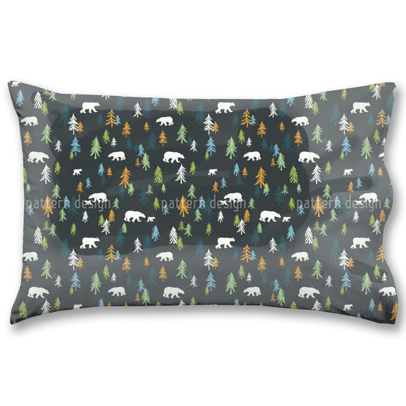 Bears In The Forest Pillow Case