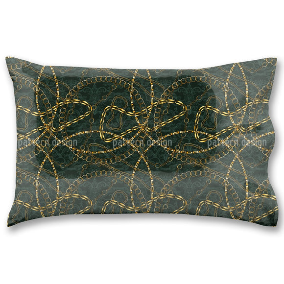 Metal Chains Pillow Case