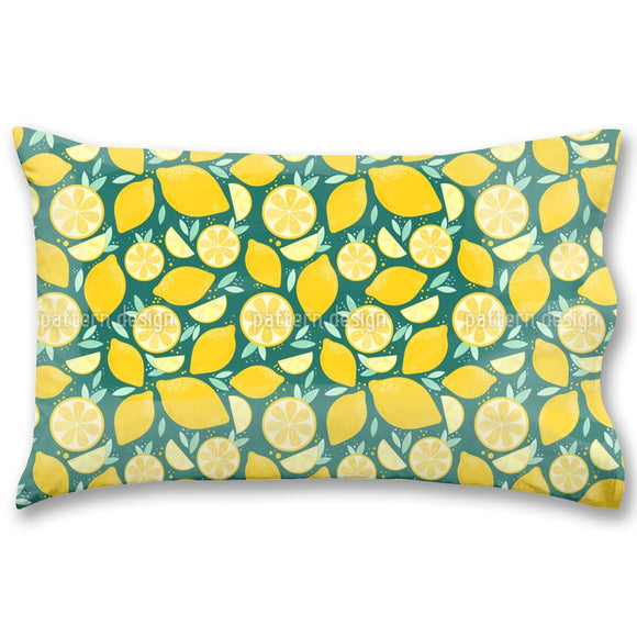 Sunny And Juicy Lemons Pillow Case