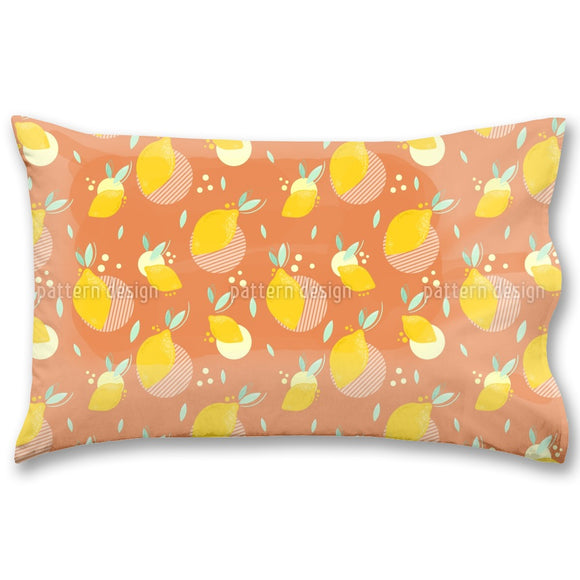 Hip Lemons Pillow Case