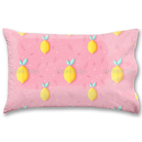 Grainy Lemons Pillow Case