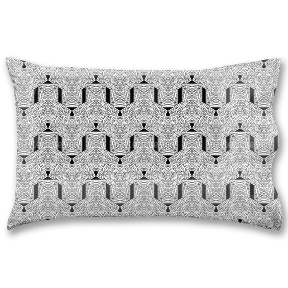 Overlapping Rhythm Pillow Case