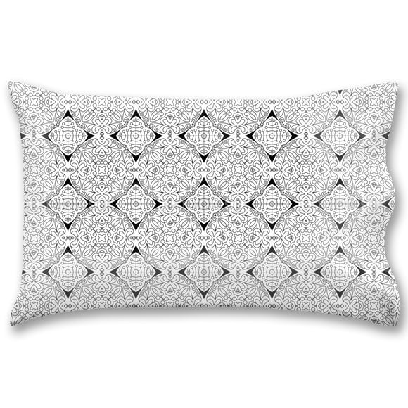 Grid Of Mandalas Pillow Case