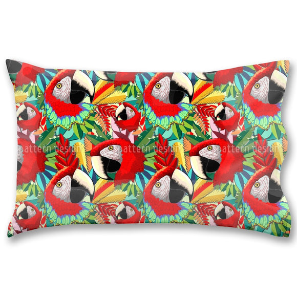 Macaw Pillow Case