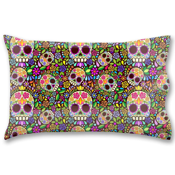 Mexican Skull Pillow Case