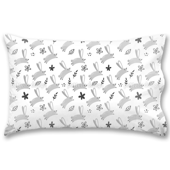 Meadow Hare Pillow Case