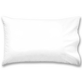 Eastern Magic White Pillow Case