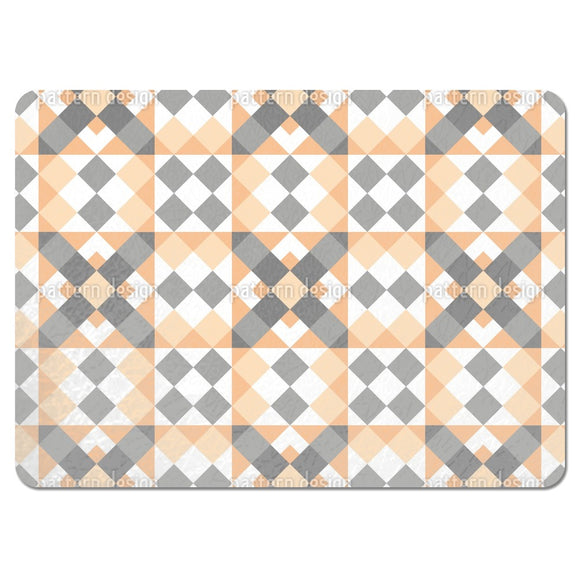 Angled Patchwork Placemats