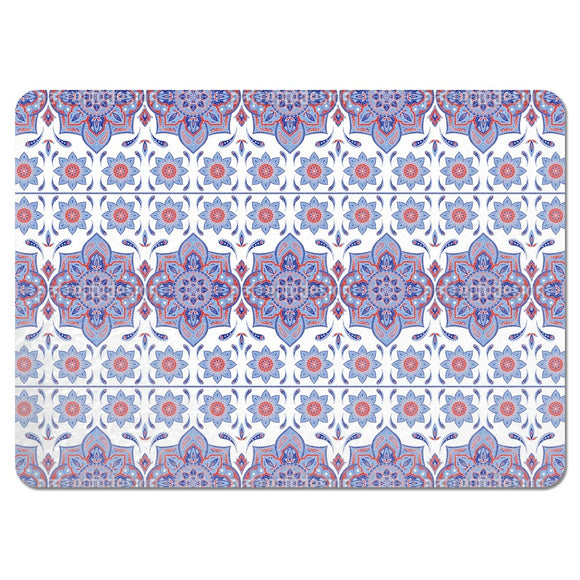 Mandala With Paisley Placemats