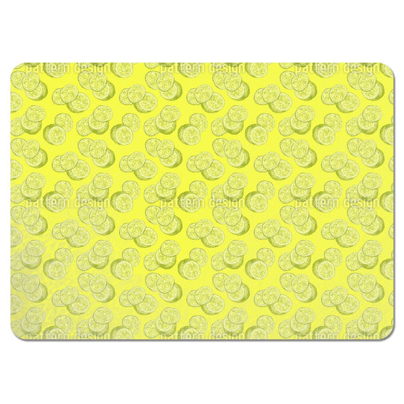 Lemon Sketch Placemats