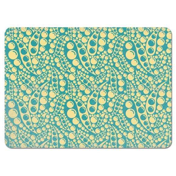 Abstract Peas Placemats