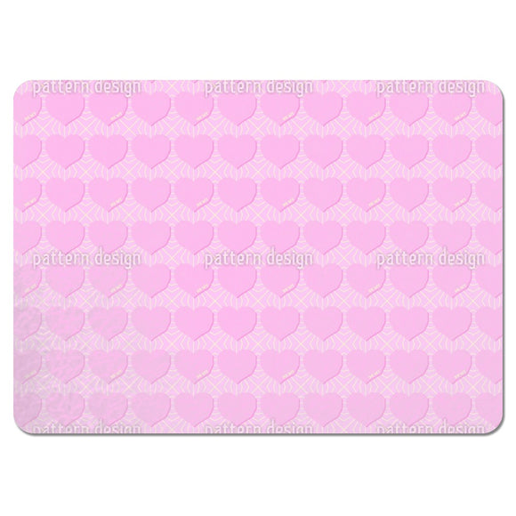 Angular Hearts Placemats