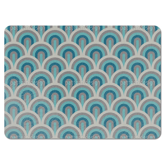 Art Deco Scales Placemats