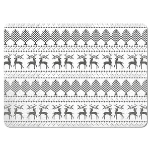 Knitted Winter Theme Placemats