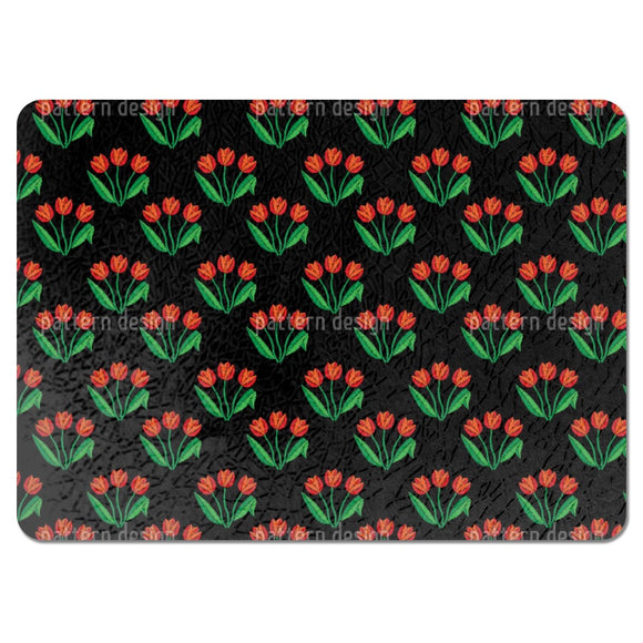 Tulip Flowers Placemats