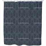 Black Pearls Shower Curtain