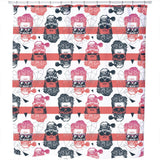 Cool Looking Skull Shower Curtain