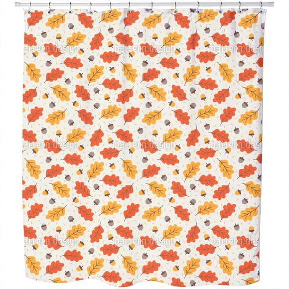 Warm And Cozy Autumn Shower Curtain