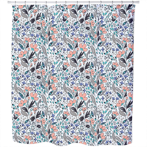 Floral Wind Shower Curtain