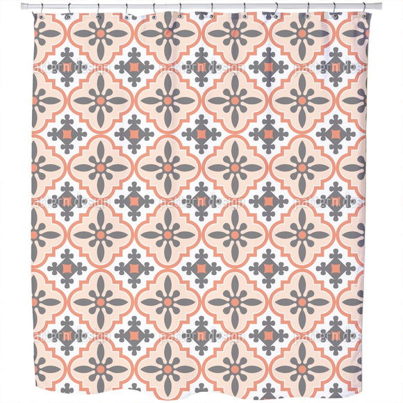 Lerma Tile Shower Curtain
