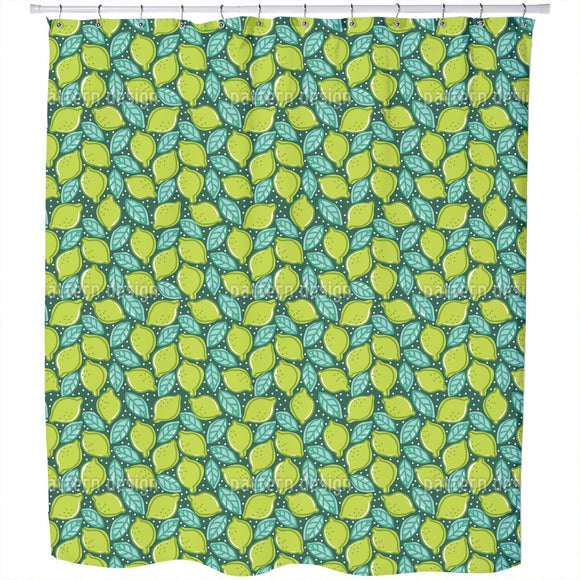 Fresh Limes Shower Curtain
