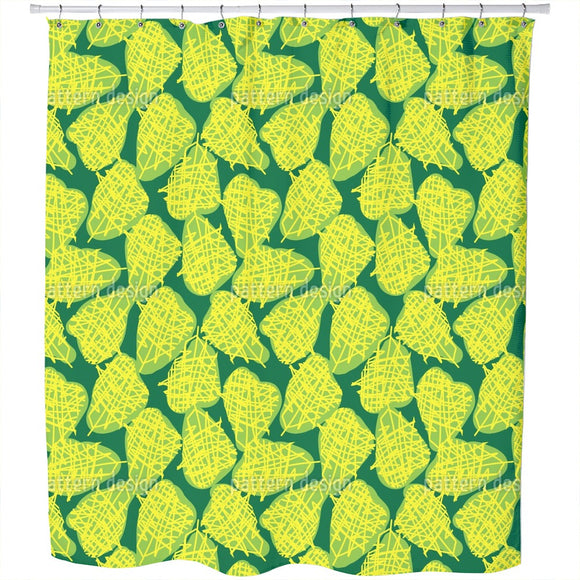 Somehow Fruity Shower Curtain
