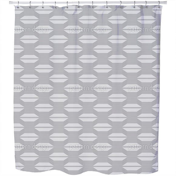 Rolling Grilles Shower Curtain