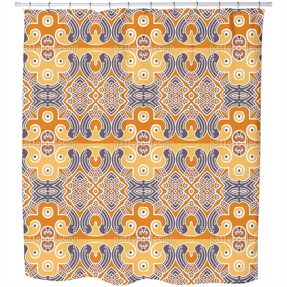 Indian Element Shower Curtain