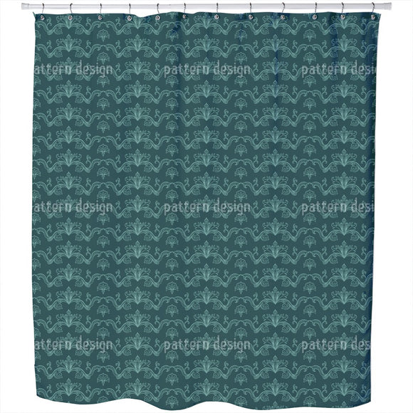 Magnificent And Arabesque Shower Curtain