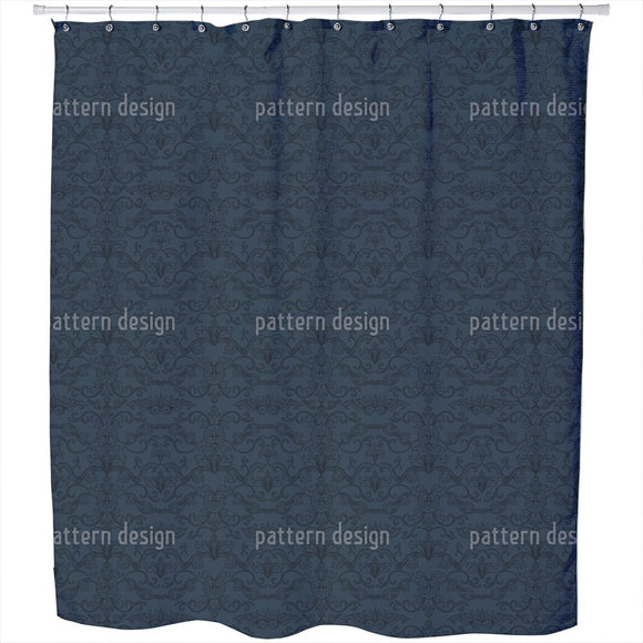 Noble Arabesques Shower Curtain