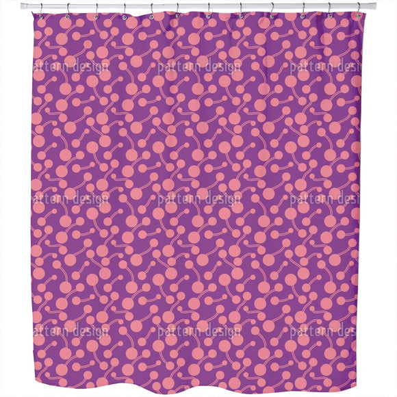 Atomic Bond Shower Curtain