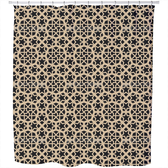 Moorish Prince Shower Curtain