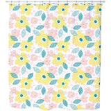 Raster Bloom Shower Curtain