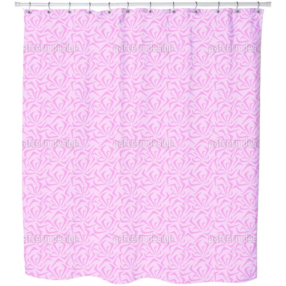 Wind In The Roses Shower Curtain
