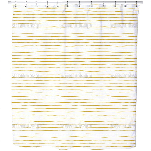 Drawing Lines Shower Curtain