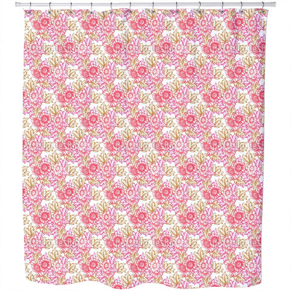 Nostalgic Bouquet Shower Curtain