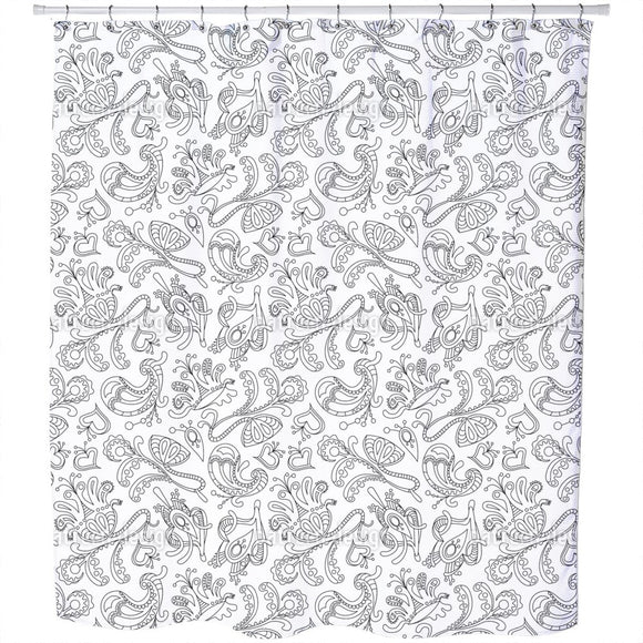 Ornamental Dream Shower Curtain