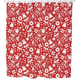 Christmas Preparations Shower Curtain