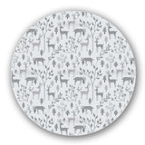 Deer in Winter Forest Lazy Susan