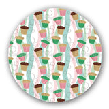 Colorful Muffins Lazy Susan
