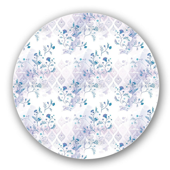 Blue Oasis Lazy Susan