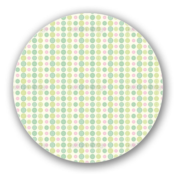 Cute Dots Lazy Susan