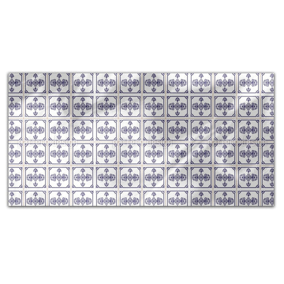 Portuguese Tile Floor Rectangle Tablecloths