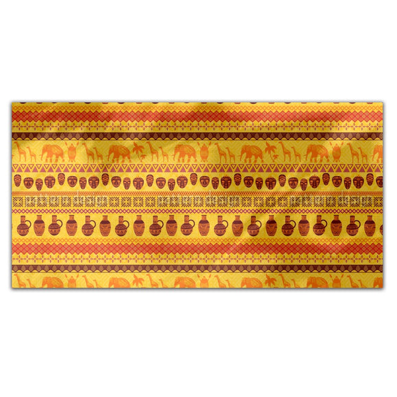 African Motifs Rectangle Tablecloths