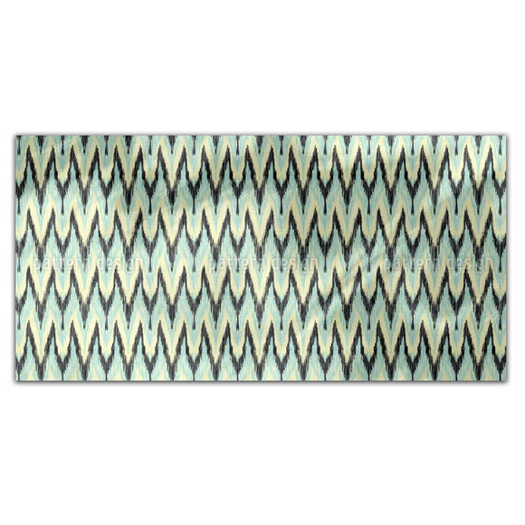 Zigzag Ikat Rectangle Tablecloths